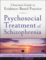 Psychosocial Treatment of Schizophrenia