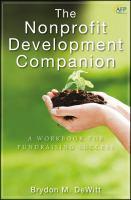 The Nonprofit Development Companion