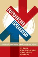 Outsourcing--insourcing