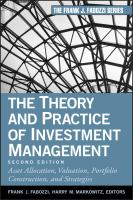 The Theory and Practice of Investment Management