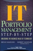 IT Portfolio Management Step-by-step