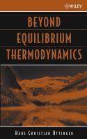 Beyond Equilibrium Thermodynamics