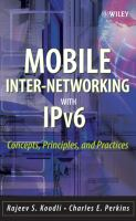 Mobile Internetworking With IPv6