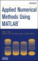 Applied numerical methods using MATLAB [electronic resource] cover