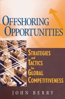 Offshoring Opportunities
