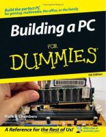 Building A PC for Dummies, 5th Edition