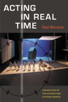 Acting in real time cover