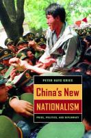 China's New Nationalism