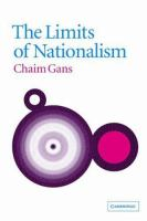The Limits of Nationalism