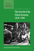The Growth of the Italian Economy, 1820-1960