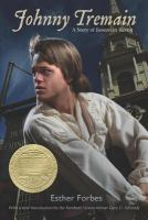 Johnny Tremain book cover