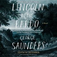 Lincoln in the Bardo audiobook cover