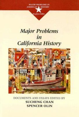 "Picture of the book cover for ""Major Problems in California History: Documents and Essays"""
