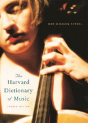 "Picture of the book cover for ""The Harvard Dictionary of Music"""