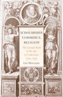 Scholarship, Commerce, Religion