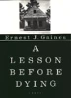 Cover of A lesson before dying
