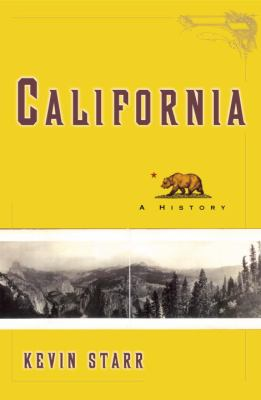 "Picture of the book cover for ""California: A History"""