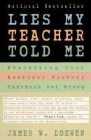 Cover of Lies My Teacher Told Me: E