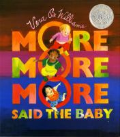 Cover of More More More Said the Ba
