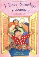 Cover of I love Saturdays y Domingo