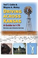 Driving Across Kansas book cover