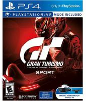 Gran Turismo sport [electronic resource (video game for PS4)] : the real driving simulator.
