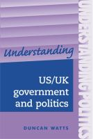 Understanding US/UK Government and Politics