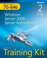 MCITP Self-paced Training Kit (exam 70-646)