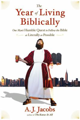 The Year of Living Biblically book jacket