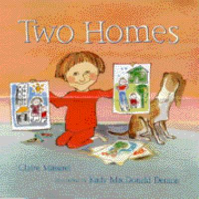 """Book Cover -Two homes"""" title=""""View this item in the library catalogue"""
