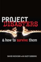 Project Disasters & How to Survive Them
