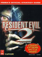 Resident Evil 2: Prima's Official Strategy Guide