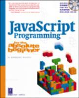 JavaScript Programming for the Absolute Beginner