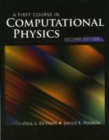 A first course in computational physics cover
