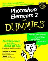 Photoshop Elements 2 for Dummies