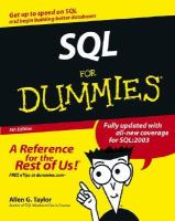 SQL for Dummies, 5th Edition