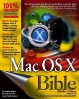Mac OS X Bible Panther Edition