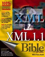 XML 1.1 Bible, 3rd Edition