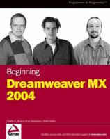 Beginning Dreamweaver MX