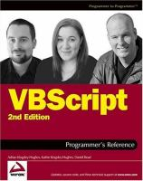 VBScript Programmer's Reference, Second Edition