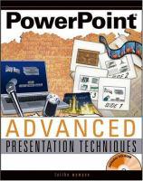 PowerPoint Advanced Presentation Techniques