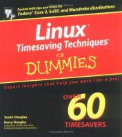 Linux Timesaving Techniques for Dummies