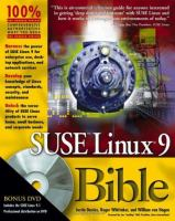 SUSE Linux 9 Bible