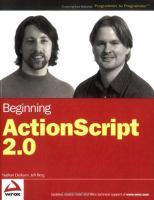 Beginning ActionScript 2.0