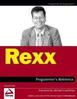 Rexx Programmer's Reference