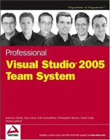 Professional Visual Studio 2005 Team System