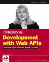 Professional Web APIs
