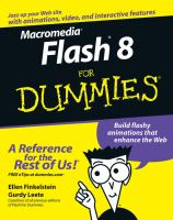 Macromedia Flash 8 for Dummies