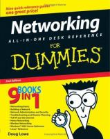 Networking All-in-one Desk Reference for Dummies, 2nd Edition