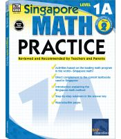 Singapore Math Practice, Level 1A, Grades 1-2